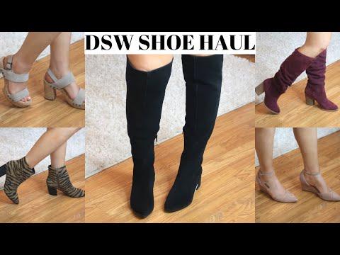 DSW Shoe Haul | Try On thumbnail