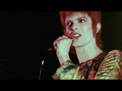 David Bowie - Suffragette City - live 1972 (rare footage/2016 edit)