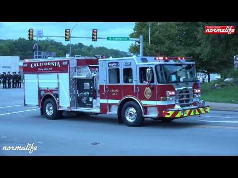 Pennsylvania Firemen's Convention Parade 2016