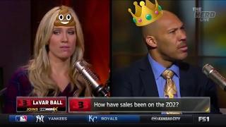 LaVar BALL Shitting on Kristine Leahy & Jason Whitlock