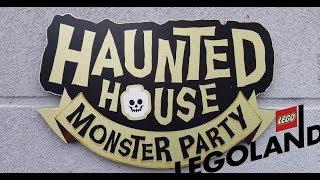 Legoland Windsor Vlog Haunted House Monster Party! 2019