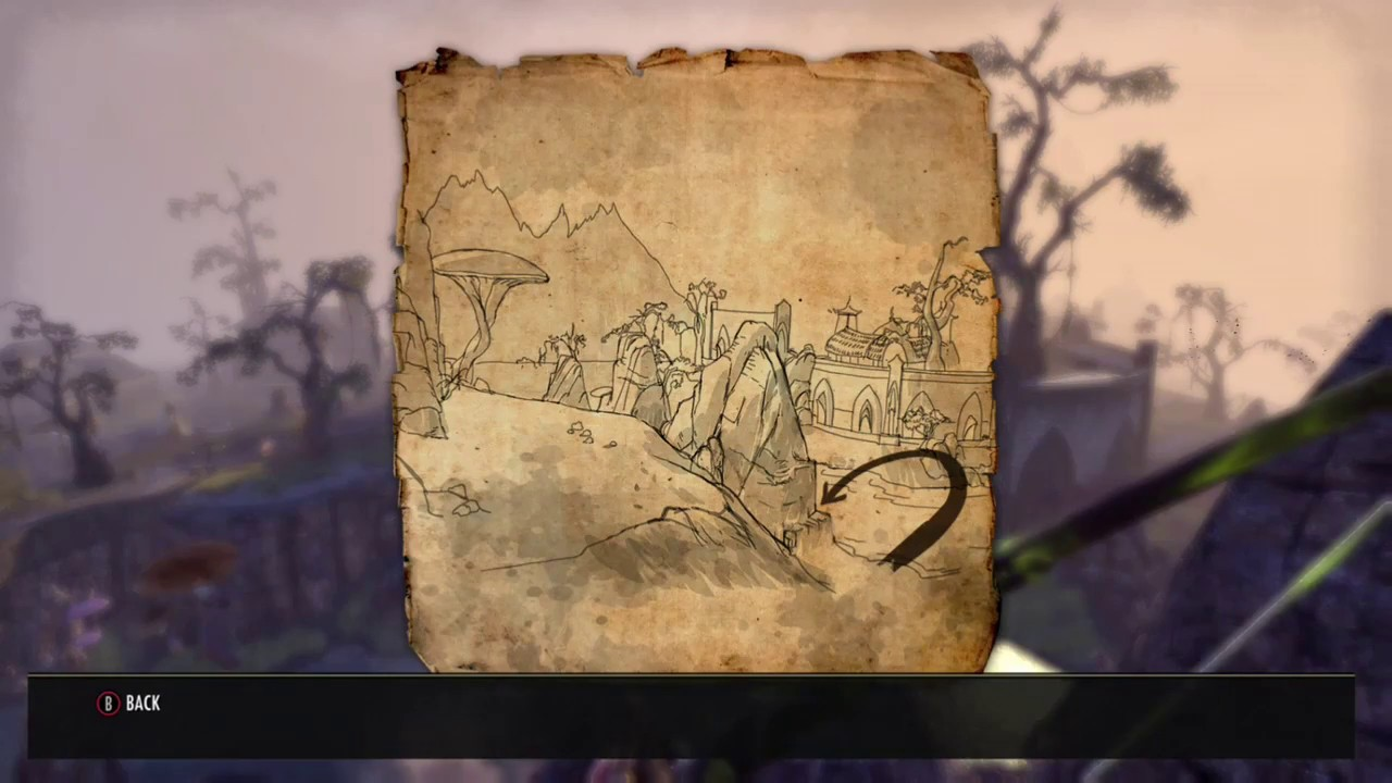The Elder Scrolls Online new Stonefalls treasure map 2 ii, updated newest  version