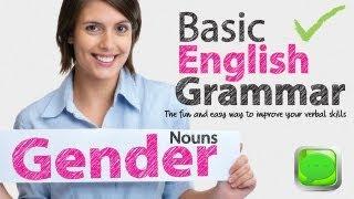 English Grammar Lessons - Gender