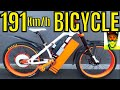 191kmh Electric Bike (118mph) Video 1 - Project Introduction