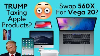 Return MacBook Pro 560X for Pro Vega 20 Model?
