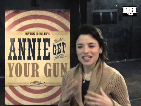 Jenn Gambatese talks about ANNIE GET YOUR GUN Part 1