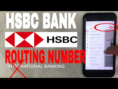 ✅  HSBC Bank ABA Routing Number - Where Is It? 🔴