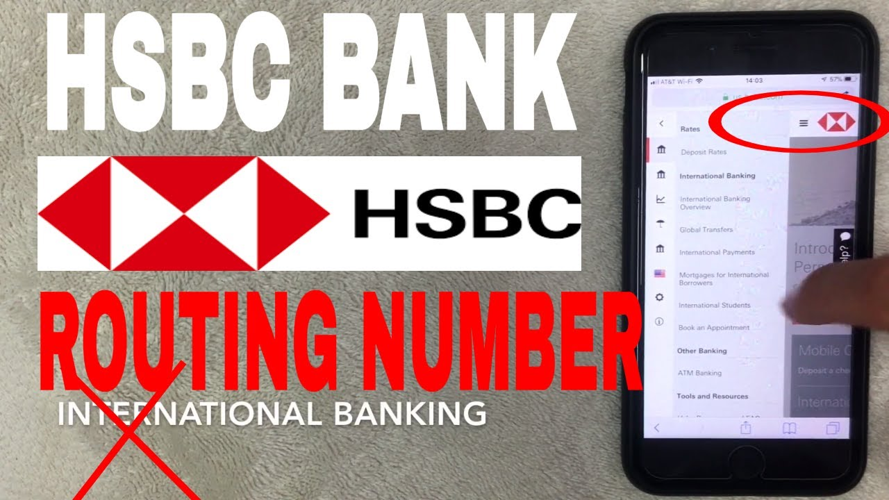 Hsbc Bank Aba Routing Number Where