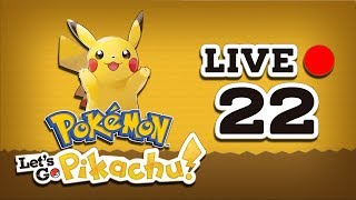 LIVE #22 - POKÉMON LET'S GO PIKACHU! -