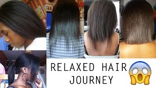 My Relaxed Hair Journey - Natural, Relaxed, Setbacks, Mini Chop, New Journey | IamGenie