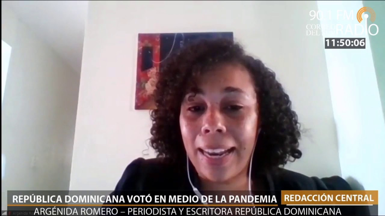 Contacto con República Dominicana: Votación en pandemia.