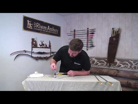 How to Waterproof Feather Fletchings with 3Rivers Archery