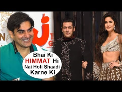 Arbaaz Khan Makes FUN Of Brother Salman Khan For Not MARRYING Girlfriend Katrina Kaif