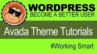 learn how to customize avada theme wordpress tutorials