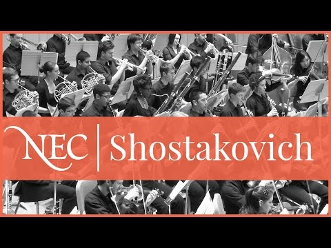 Shosty 11 at Symphony Hall with NEC Phil now on YouTube!