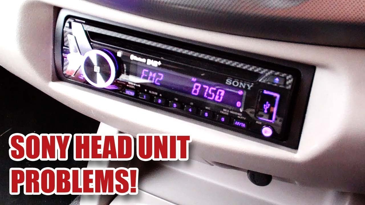 what's going on sony?! head unit problems - mex-n6001bd (read description!)  [11] - youtube