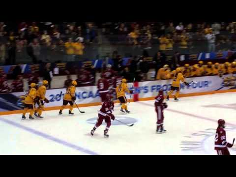 Minnesota scores in the 2015 NCAA Championship