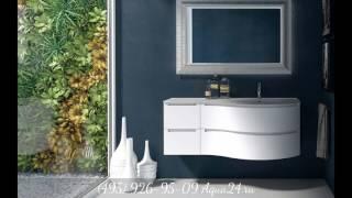Обзор мебели для ванной Berloni Bagno от Aqua24.ru
