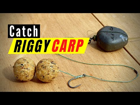 Carp fishing rigs: How to tie the best running rig using bottom bait and modified inline lead setup