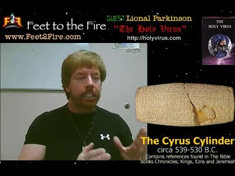 Feet to the Fire- Lional Parkinson: The Name of God Revealed in Ancient Cylinder