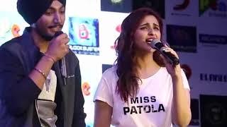 Parineeti Chopra Sing a song