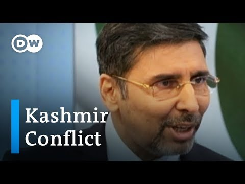 Kashmir conflict interview: Pakistan's ambassador to Germany joins DW in the studio   DW News