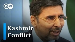 Kashmir conflict interview: Pakistan's ambassador to Germany joins DW in the studio | DW News