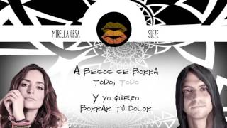A BESOS_ Mirella Cesa & Sie7e _ Urban & Acoustic version (Lyric Video)
