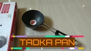 Unboxing of hard anodized tadka pan Prestige Flipkart