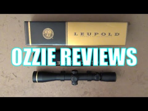 Leupold VX3 4.5-14x40 CDS Side Focus 30mm Rifle Scope