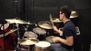 YingKi - Drum Cover (方皓玟 - 分手總約在雨天)