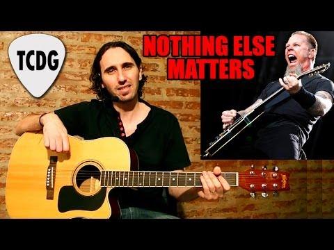 Como Tocar Nothing Else Matters en Guitarra Acústica (Metallica) #1 TCDG