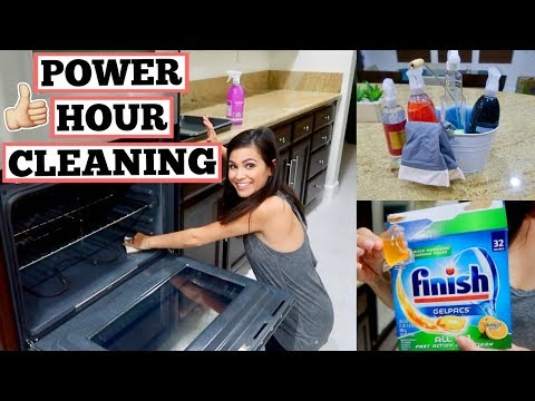 POWER HOUR CLEANING 2018 || IT'S BACK!!! || STAY AT HOME MOM CLEANING