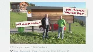 Jung von Matt/Limmat: Obermutten. Ein Schweizer Bergdorf geht um die Welt.