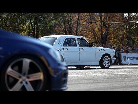 ГАЗ-24 Волга vs VW Golf R 500+ л.с.