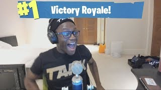 I ACTUALLY WON IN FORTNITE BATTLE ROYALE!!!