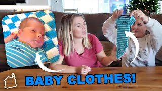 SWAPPING BABY CLOTHES WITH MY PREGNANT SISTER!
