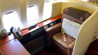 Flight Report JFK-HND Japan Airlines First Class 777-300 (New York to Tokyo)