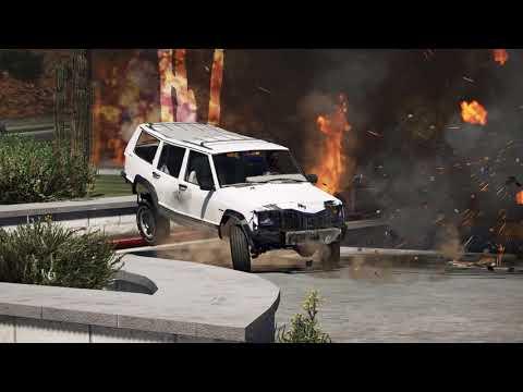 [GTA V Reckless compilation #47] Epic petrol / gas station CRASHES