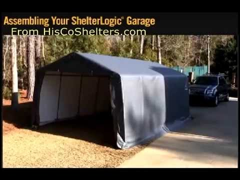 How To Portable Garage Assembly Instruction The Easiest And Best