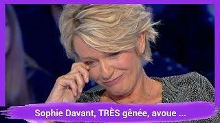 Sophie Davant, TRÈS gênée, avoue ne plus être célibataire