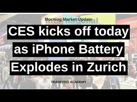 CES kicks off today as iPhone Battery Explodes in Zurich