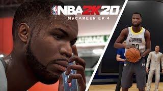 NBA 2K20 My Career Ep 4 - DRAFT COMBINE!!
