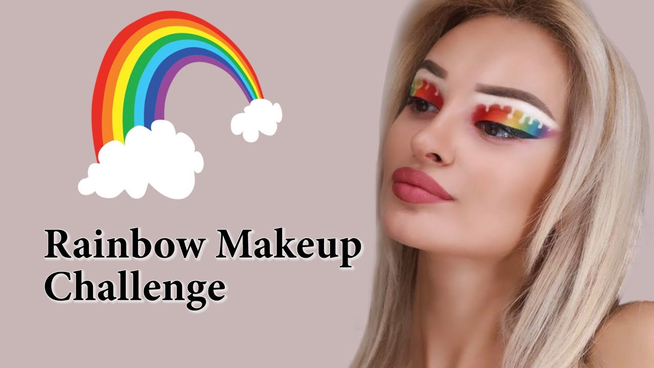 ჩელენჯი – Rainbow Makeup