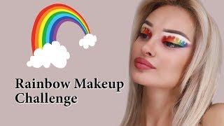 ჩელენჯი - Rainbow Makeup