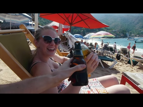 😍 Romantic Day in Yelapa! Only Accessible By Boat! - Travel Mexico couple vlog #289
