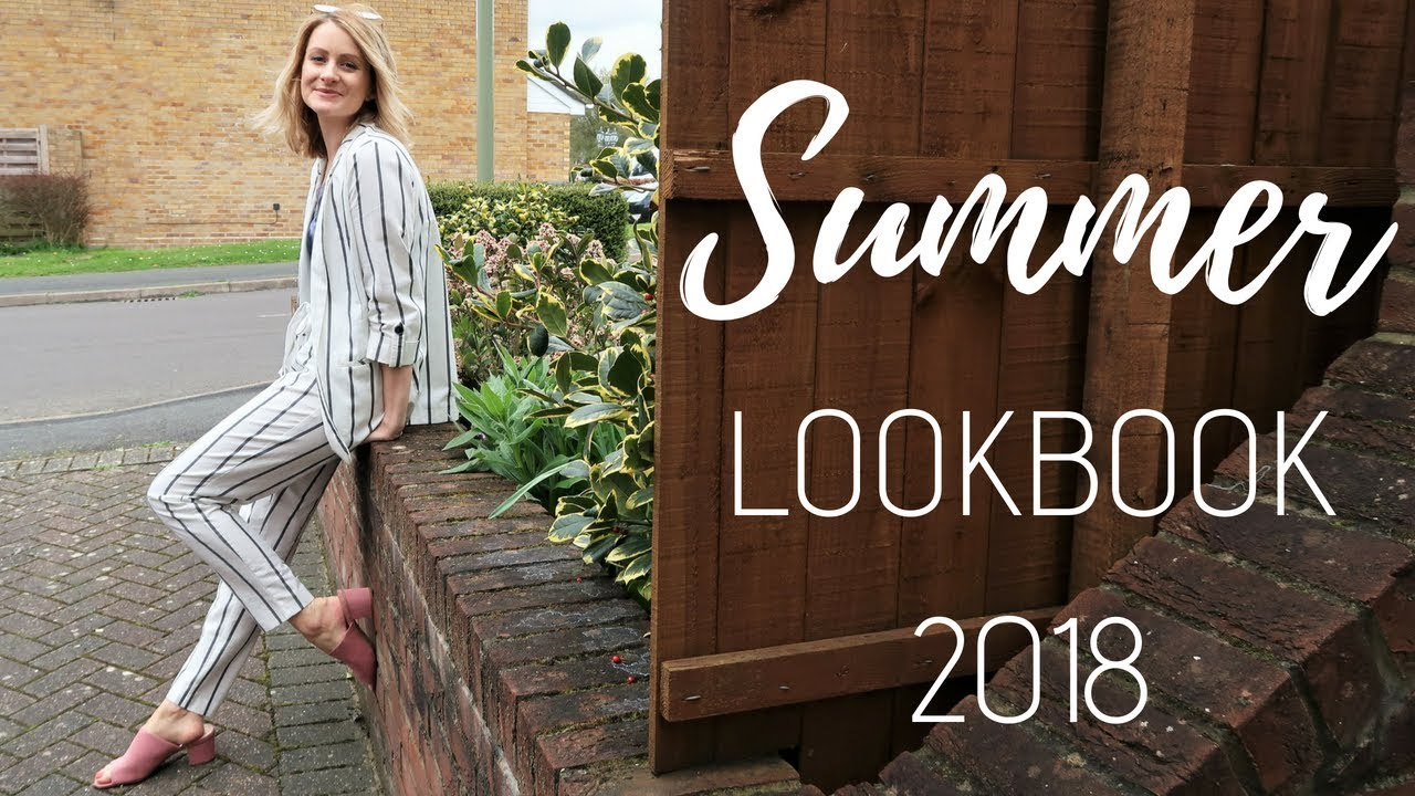 [VIDEO] - SPRING SUMMER LOOKBOOK 2018 | STYLING OUTIFTS FOR SPRING 2