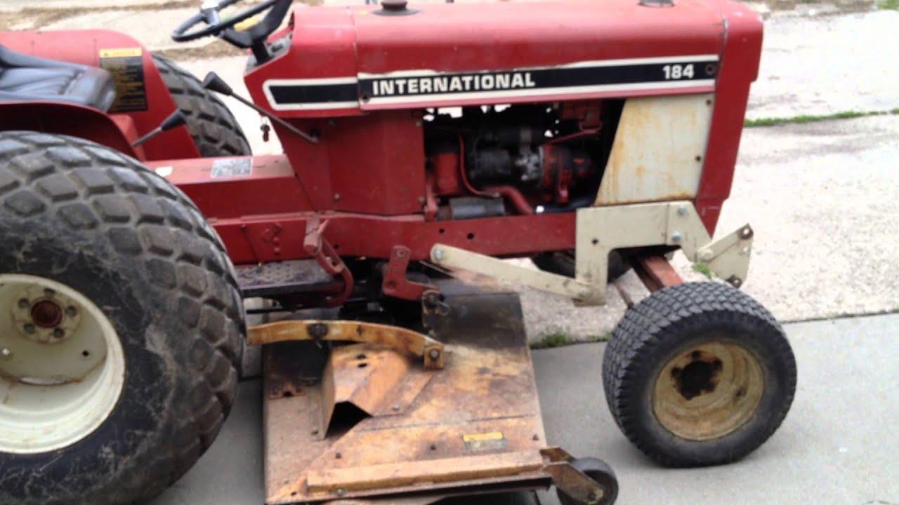 1979 farmall international harvester 184 cub lo boy [ 1280 x 720 Pixel ]