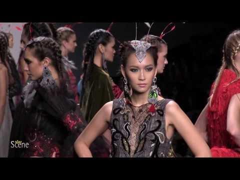 Melinda Looi at Bangkok International Fashion Week. Movie by Paul Hutton, Bangkok Scene