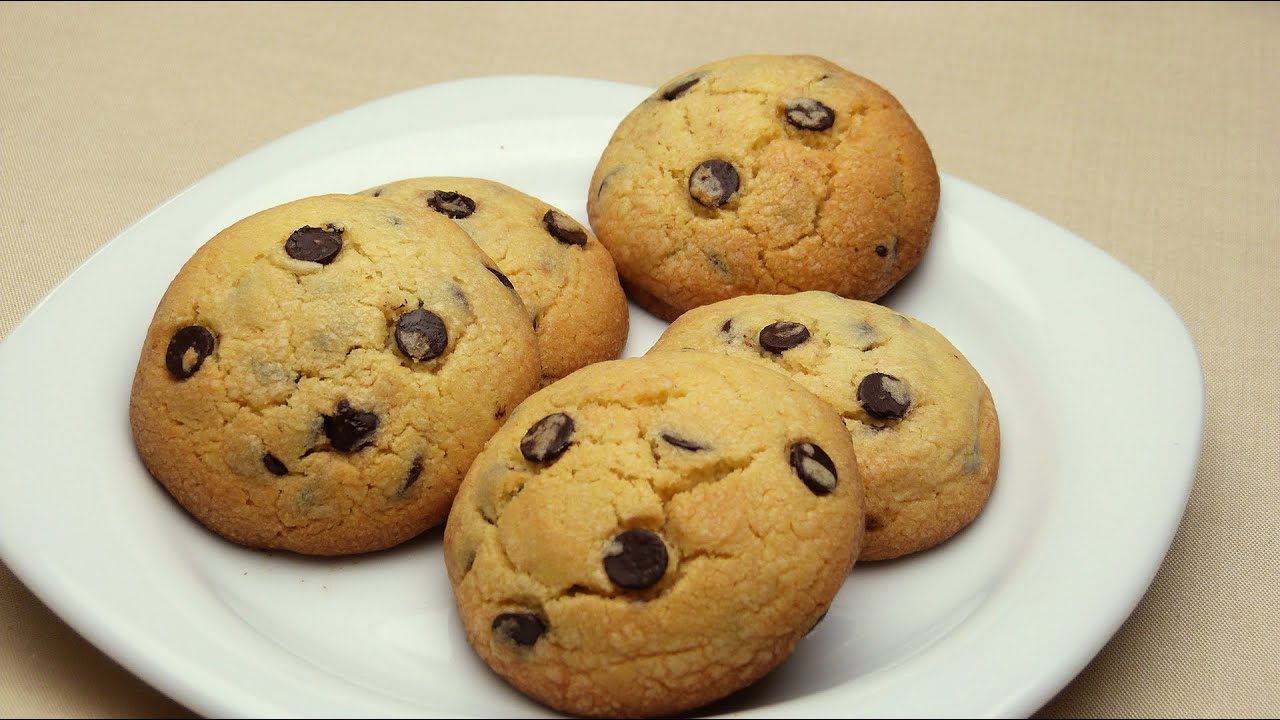 Recipe for Easy Chocolate Chip Cookies with Butter - YouTube